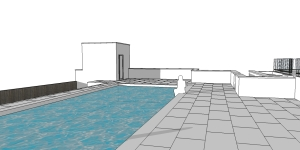 new roc pool sketchup Scene 4 two point perspective