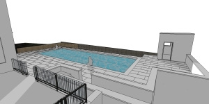 new roc pool sketchup Scene 5 from dwelling