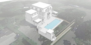 new roc pool sketchup Scene 6 google earth